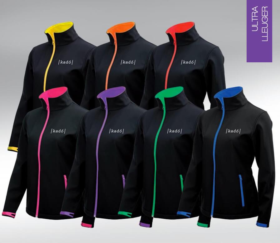 Regalo de empresa: chaquetas softshell