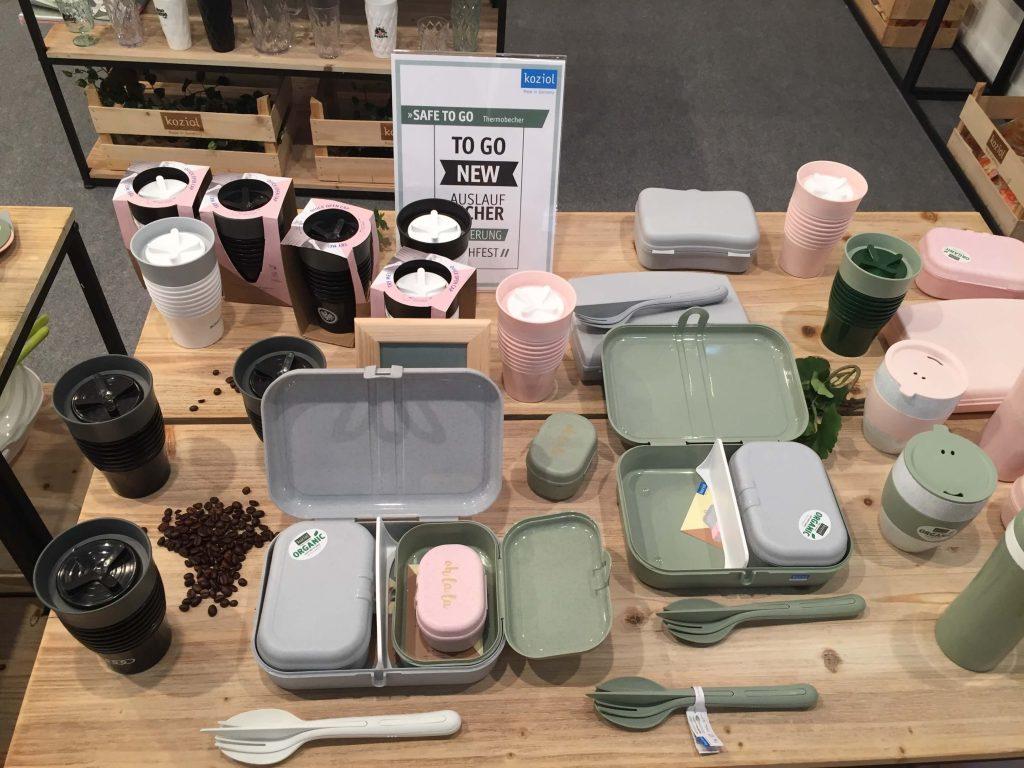 Gamma de productos para comer fuera de casa de Koziol.