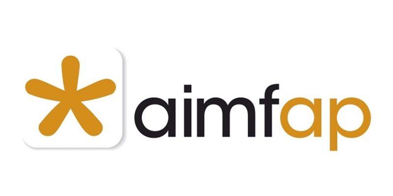 Logo de l'associació Aimfap 2019