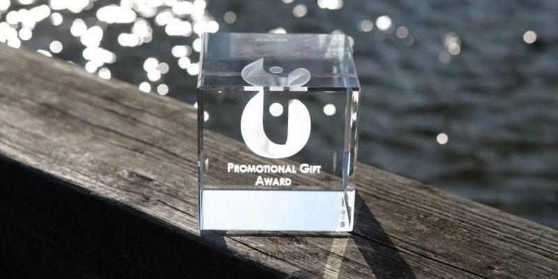 El trofeo de los Premios Regalo Promocional 2019