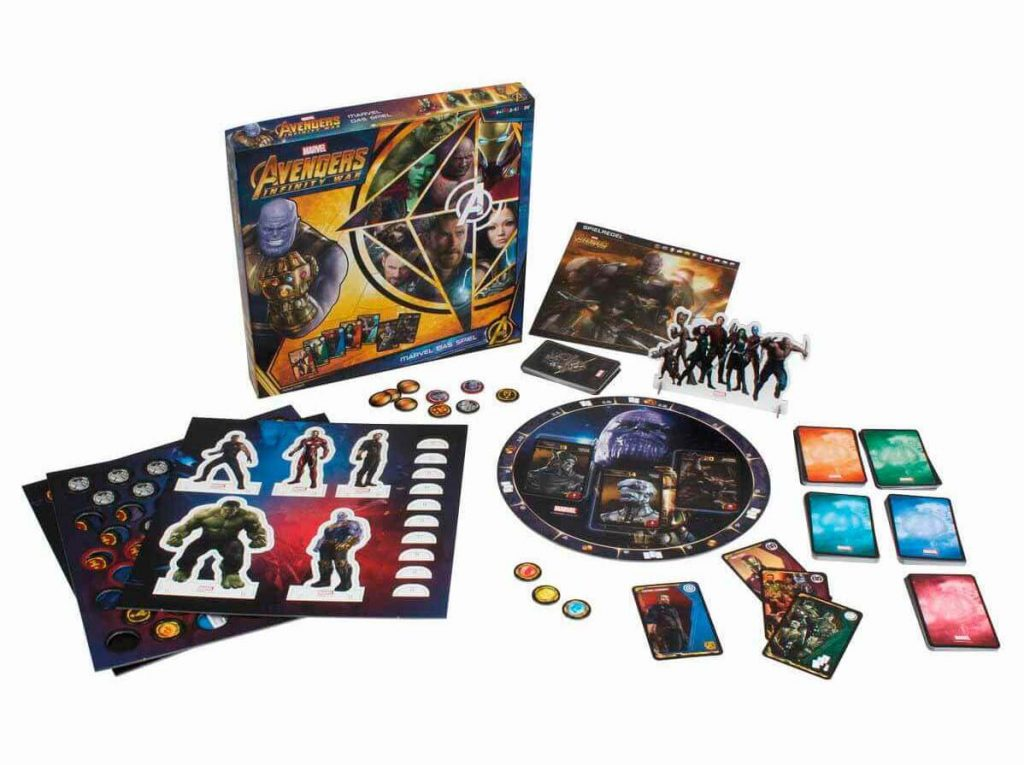 Juego de Marvel de la película Avengers: Infinity War