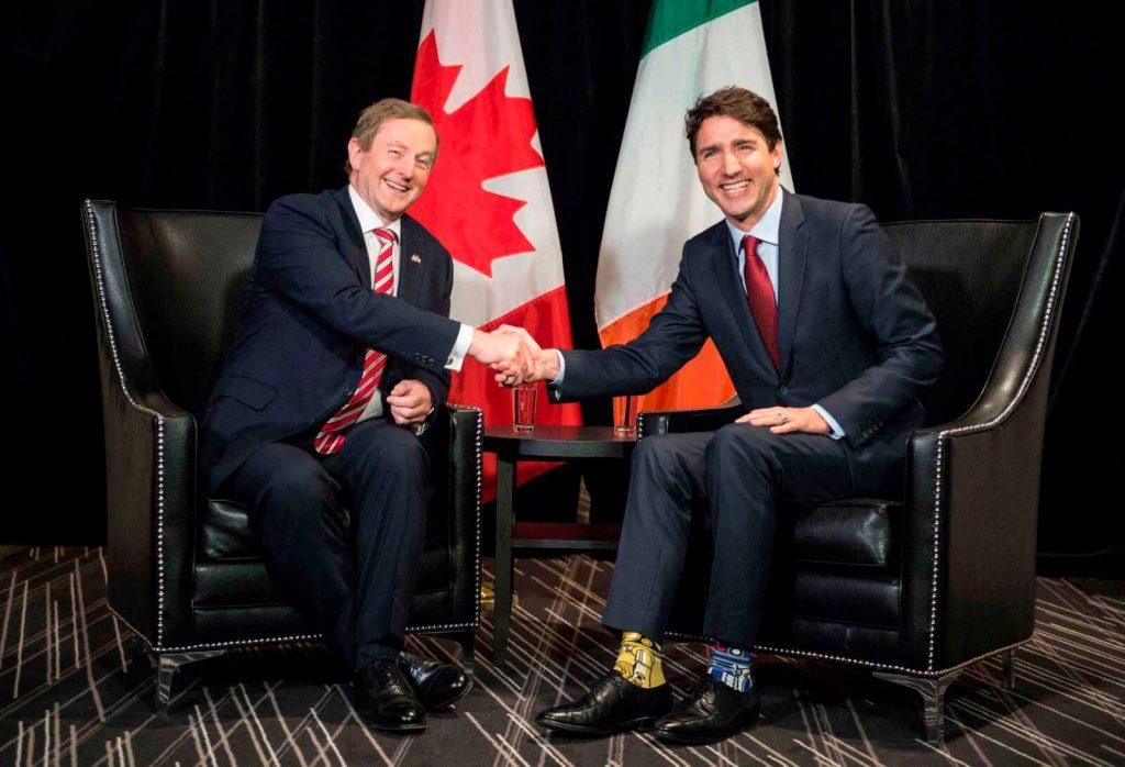 Justin Trudeau famoso por sus calcetines llamativos
