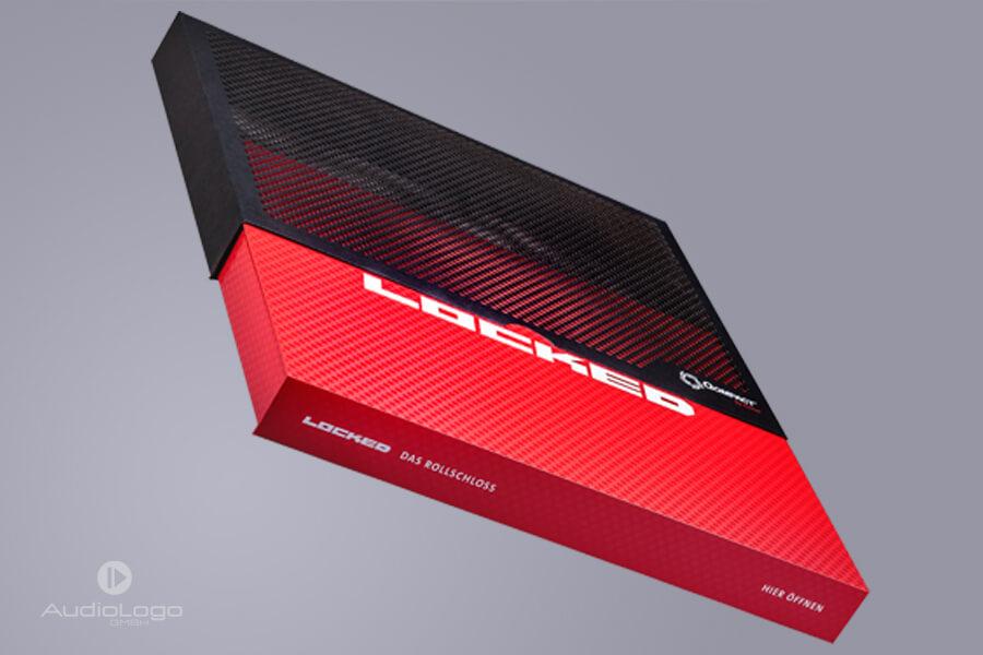Vídeo packaging y la funda con corte láser - Audio Logo ®