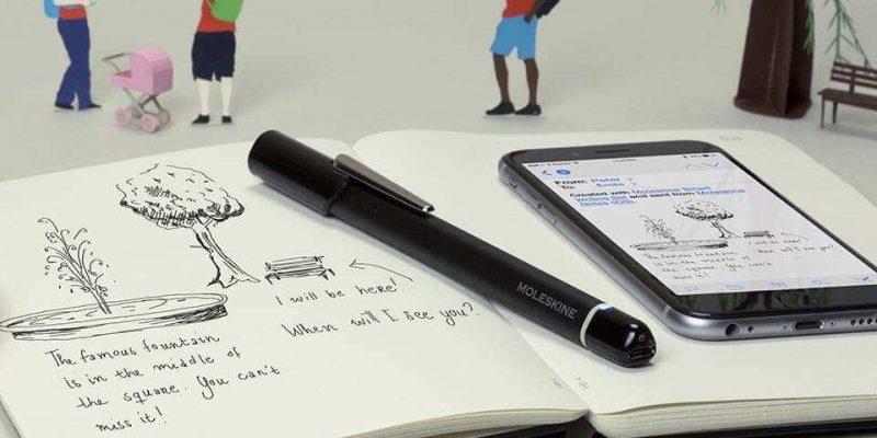 Detalle de la Agenda Smart Diary / Planner de Moleskine