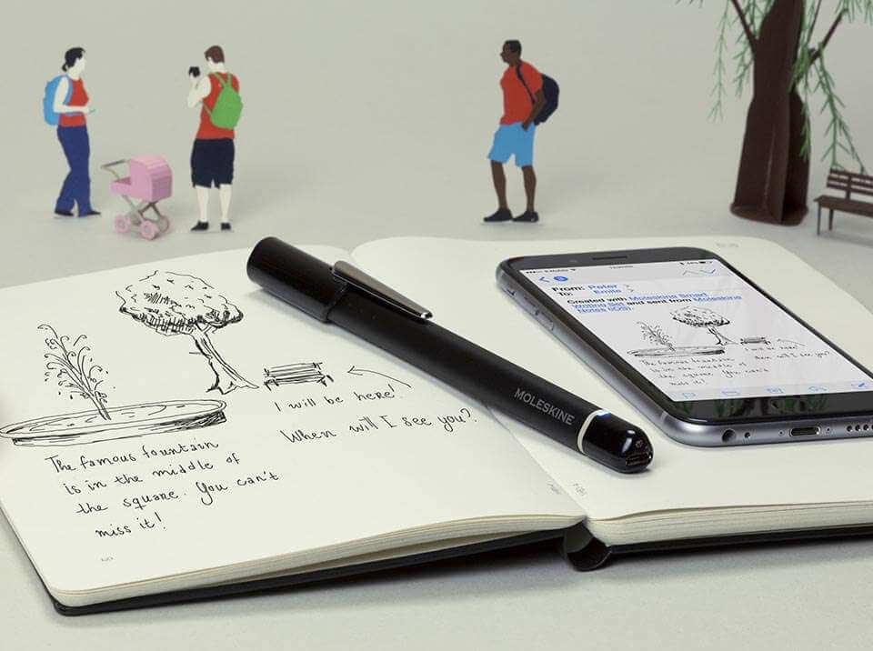 Detall de l'Agenda Smart Diary / Planner de Moleskine