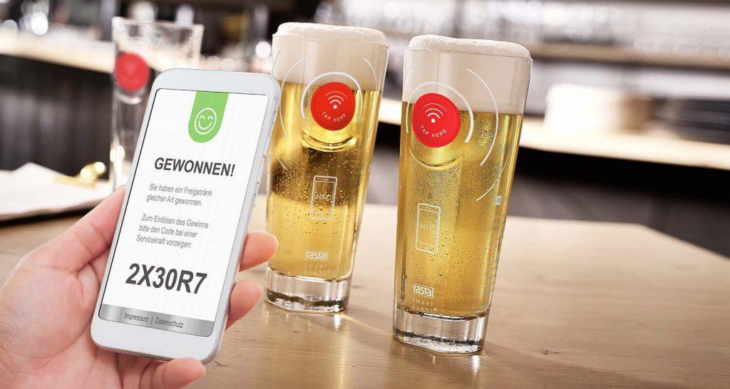 Regalo Promocional - Vasos de vidrio personalizados