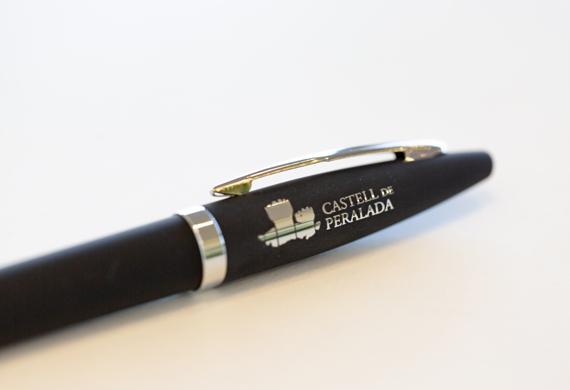 Bolígraf personalitzat: Castell de Peralada
