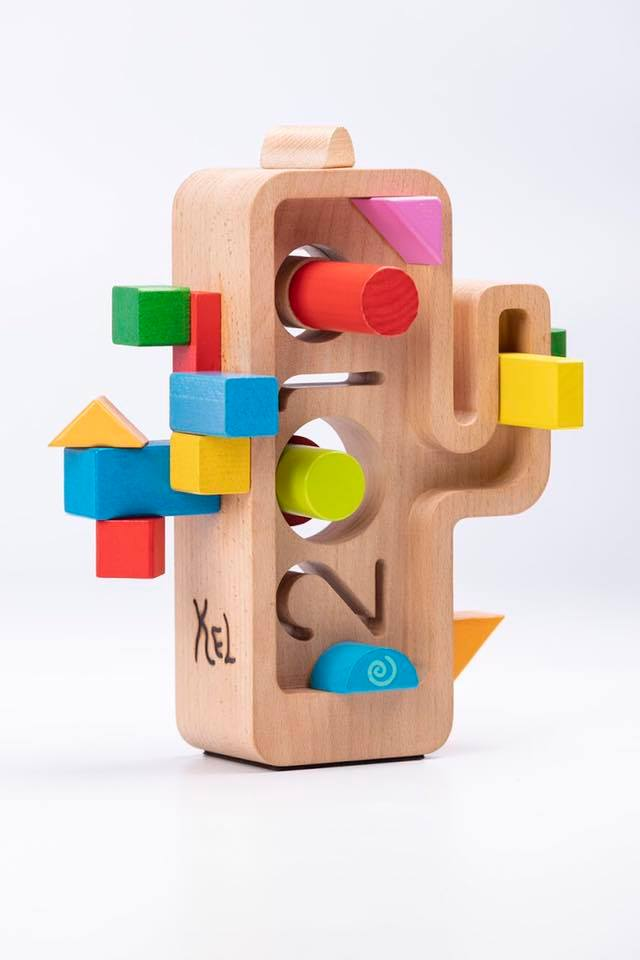 Trofeo de la Mejor Campaña de Comunicación. Diseñado por Pep Farrés y personalizado por Kel Domènech.