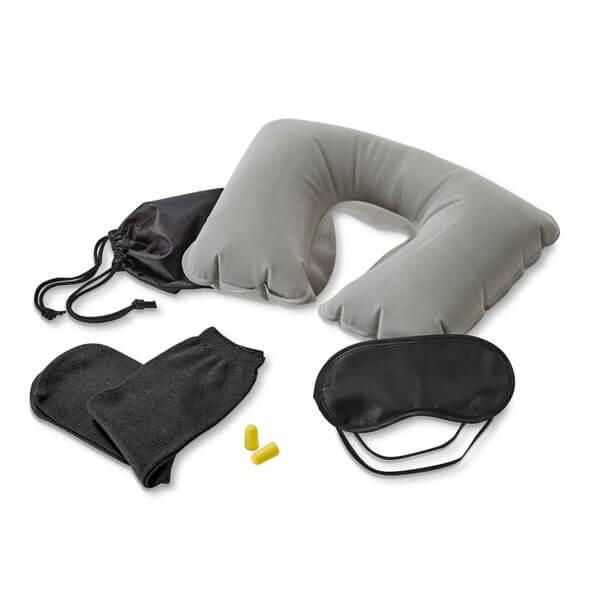 Regalo promocionals para Agencias de Viaje: paquete para dormir viajando.
