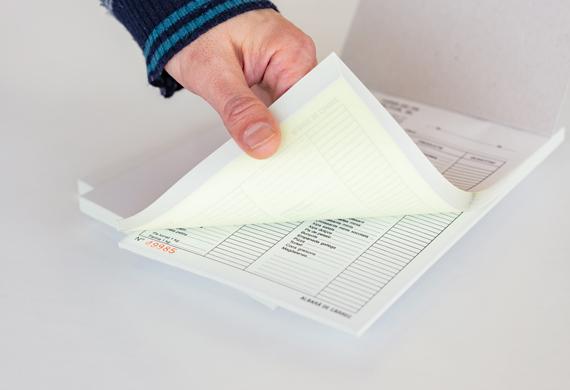 Talonarios autocopiativos numerados - 5