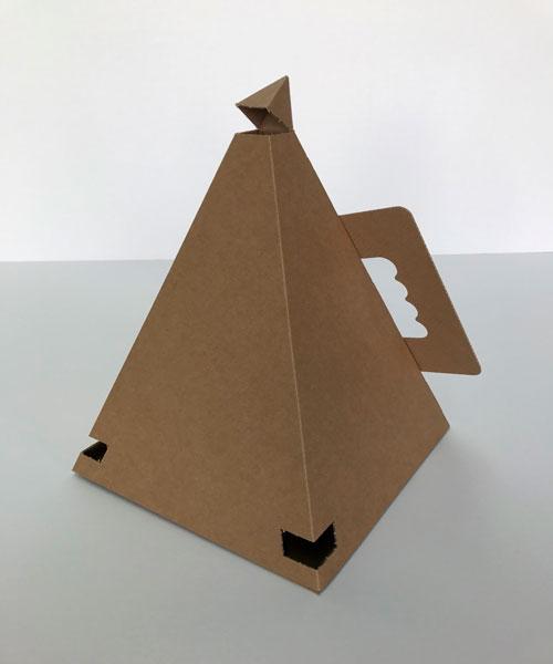 Packaging personalitzats en forma de piràmide - 2